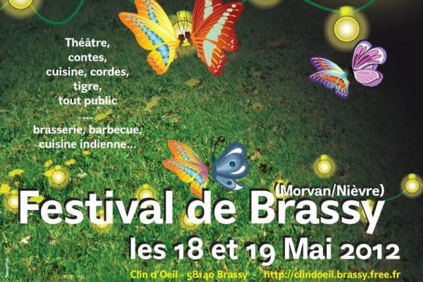 Affiche festival de Brassy 2012