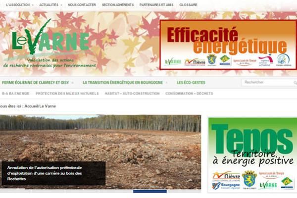 Site internet du Varne