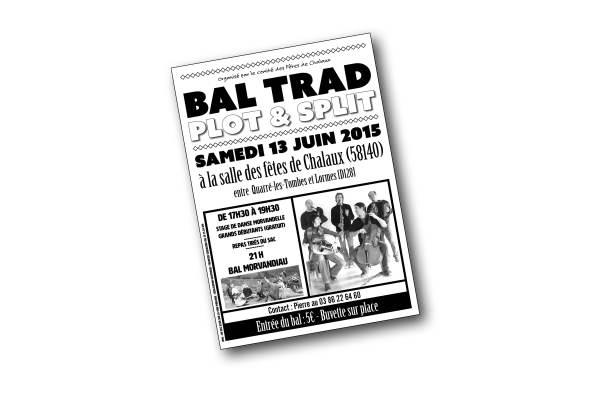 Affiche concert Plot&Split CHalaux 2015